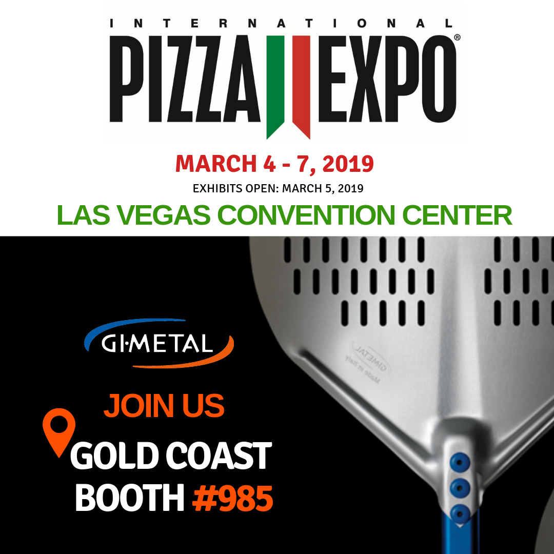 Pizza Expo Gimetal Gold Coast Booth 985
