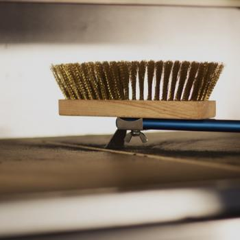adjustable oven brush